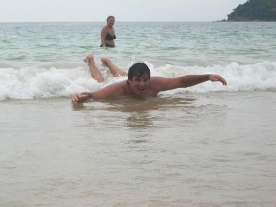 Playa de Bombas y Bombinhas